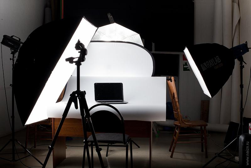как сделать свет для фотосессии дома